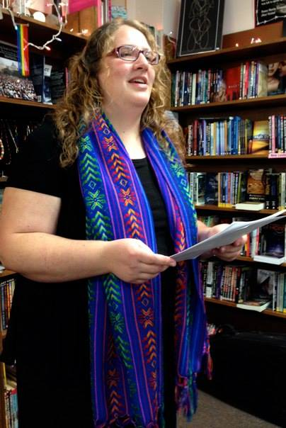 (photo credit: Susan Post; BookWoman Solstice Celebration)